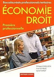 Economie-droit 1re professionnelle