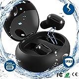 Wireless Earbuds Bluetooth Headphones Sweatproof with Mic & Charging Case