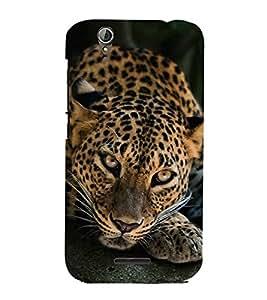 Fiobs Designer Phone Back Case Cover Acer Liquid Z630 :: Acer Liquid Zade Z630S ( Cheetah Front look )