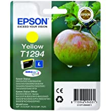 Epson Ink Cart T129 Retail Pack - Yellow