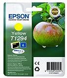 Epson Original T1294 Tinte, Apfel, wisch- und wasserfeste  (Singlepack) gelb