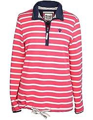 Toggi Cecile xtrafitness-shirt traje de neopreno para mujer de manga larga para hombre, loopback elástico con una tira de algodón camiseta de fútbol para hombre