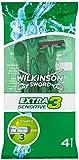 Wilkinson Sword Extra 3 Sensitive Disposable Razors - Pack of 4 Razors