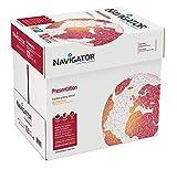 Navigator Presentation - Papel multifunción, 5 paquetes, 2500 hojas (A4, 100 g/m2), color blanco