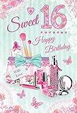Sweet 16. Geburtstag Karte
