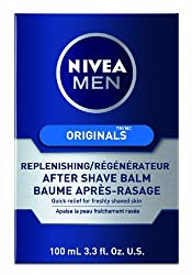 2 Pack NIVEA MEN Original Replenishing Post Shave Balm, 3.3 fl oz (100 mL) Each