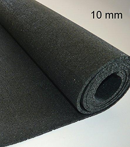 1cm Bautenschutzmatte 1,25m x 1,5m Antirutschmatte Gummimatte Gummigranulat Matte