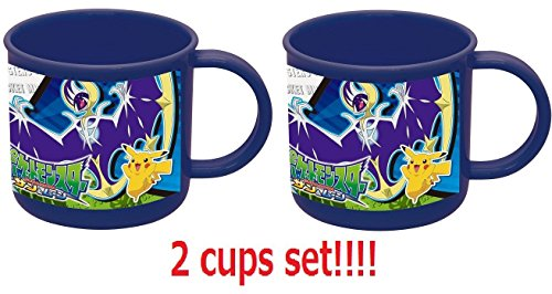 [2 Tassen Set] Skater Pokemon Tasse 200 ml Pokemon Sun & Moon ke4 a aus Japan