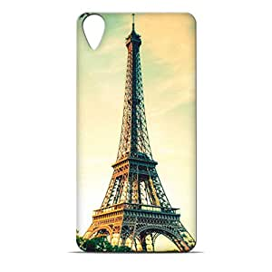 ezyPRNT Eiffel Tower Printed back Cover for HTC Desire 820