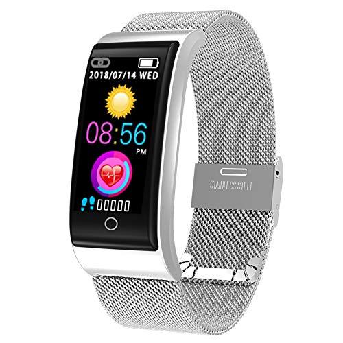 ZDY Smart Watch F4, Wasserdichte Smartwatch für Damen Herren Kinder, Fitness Activity Tracker mit Herzfrequenz/Blutdruck/Schrittzähler/Kalorien, Armband für Android und IOS.