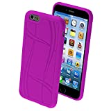 Best Mybat Iphone 6 Case Purples - Asmyna Basketball Texture Candy Skin Cover for iPhone Review