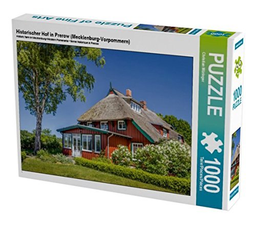 Preisvergleich Produktbild Historischer Hof in Prerow (Mecklenburg-Vorpommern) 1000 Teile Puzzle quer (CALVENDO Natur)