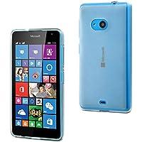 Muvit Minigel - Funda para Microsoft Lumia 535, transparente