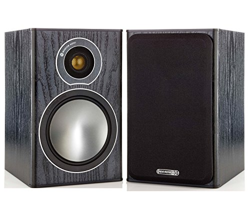 ALTAVOCES MONITOR AUDIO BRONZE 1 BLACK OAK PAR