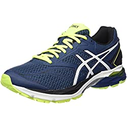 Asics Gel-pulse 8 - Zapatillas de running Hombre, Azul (Poseidon / White / Safety Yellow)