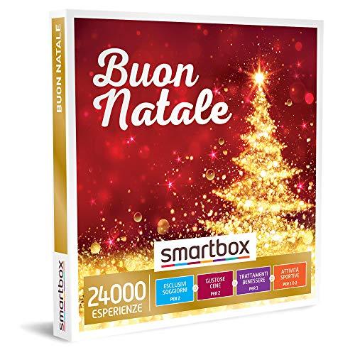 SMARTBOX - Buon Natale -  Cofanetto Regalo Multiattività  - Soggiorni, cene, pause benessere o attività sportive per 1 o 2 perso