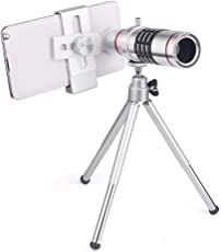 Mobile Gear Universal 18X Optical Zoom Telescope Mobile Camera Lens Kit With Tripod For All Smartphones