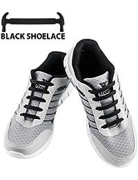 WELKOO® Lacets Elastiques en Silicone Sans Lacage Etanche pour Chaussure Adultes & Enfants -16pcs & 12pcs Couleur Divers Disponibles. STOCK EN FRANCE LIVRAISON RAPIDE SAV FRANCAIS