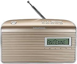 Grundig Music 7000 Dab+ Radio, Champagnesilber