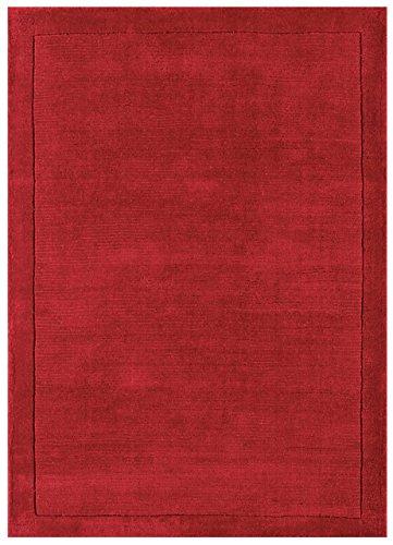 KadimaDesign Amapola roja 100% Lana alfombras diseño