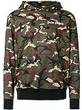 Palm Angels Herren Pmbd005s183880089901 Grün Polyester Sweatshirt
