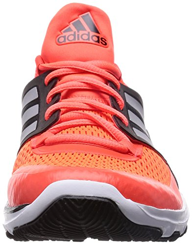 adidas Adipure 360.3, Chaussures de Handball Américain Homme rouge (Solar Red/Silver Metalic/Black)