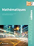 Les Nouveaux Cahiers Mathématiques Sde Bac Pro