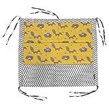Bébé Crib Sac de Rangement Suspendu avec 9 Poches Sac de Rangement Suspendu Lit Couche Sac Organisateur Berceau Coton Organisateur Nouveau-né Lit de Literie Buggy Sac Bébé Chambre Décor(N°2)