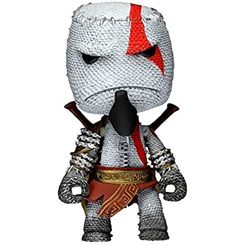 Neca LittleBigPlanet Kratos Sackboy 7-Inch Scale Series 1 Action Figure by LittleBigPlanet
