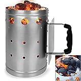 Anzündkamin für Grill Grillstarter Kohlestarter