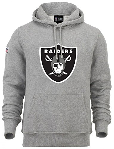 New Era - NFL Oakland Raiders Team Logo Hoodie - grey