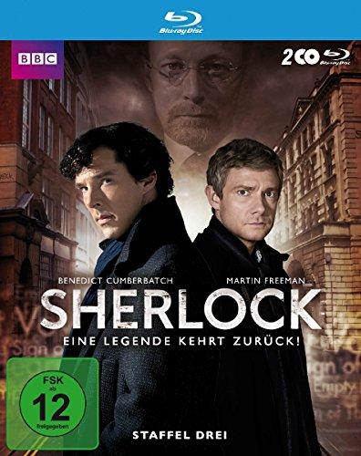 4 Sherlock-serie (Sherlock - Staffel 3 [Blu-ray])