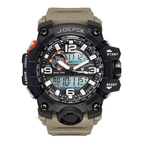 Reloj de Pulsera Digital para Hombre, Militar, Deportivo, analógico, Digital, cronógrafo, para Hombres...
