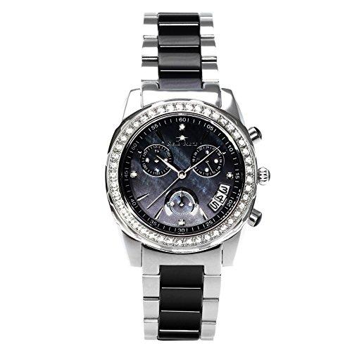 Stella Maris STM15SM13 - Orologio da polso analogico al Quarzo Donna - Cinturino Ceramica Premium Quadrante madreperla Diamanti e elementi Swarovski
