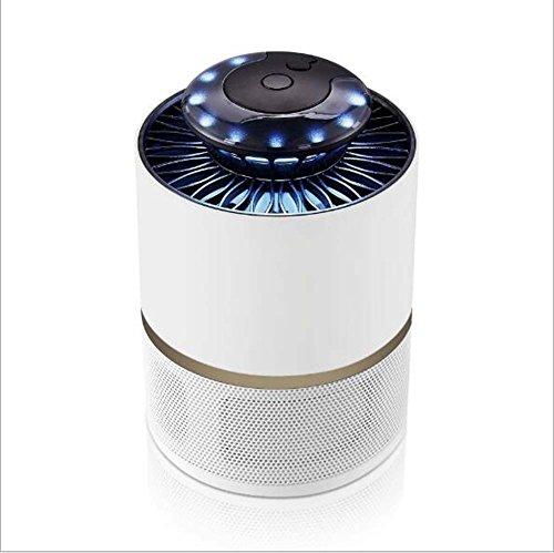 Preisvergleich Produktbild Phantom Photokatalysator Insekt Killer Indoor LED energiesparende Insektenvernichter Keine Strahlung Killer Insekt Killer (Schwarz, Weiß) ( Color : Weiß )