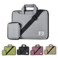 KALIDI 11 Inch Shoulder Carry Bag for 10 inch to 11 inch Laptop Notebook Gray