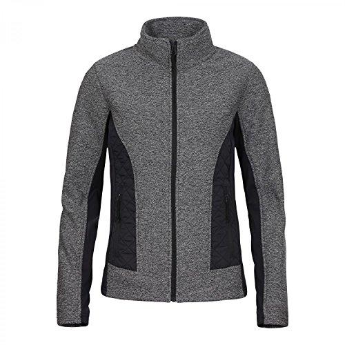 ICEPEAK - LIS, Thermal-Jacke aus Materialmix gris foncé