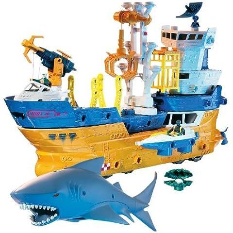 Matchbox Mega Rig Shark Adventure by Mattel