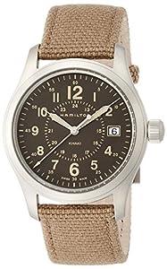 Hamilton Men's Analogue Quartz Watch with Textile Strap H68201993