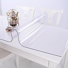 Ertex Tischdecke Tischfolie Schutzfolie Tischschutz Folie Transparent 2,5 mm 1A Qualität Lebensmittelecht ( 80 x 120 cm )