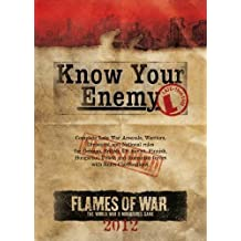 Know Your Enemy: Late War Edition 2012 (Flames of War)