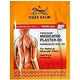 30Patchs (15sachets de 2plaster) TIGER BALM PATCH CHAUD