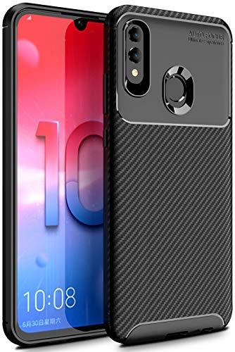 Case Collection Carbonfaser Design Hülle für Huawei P Smart 2019 Hülle (6,21