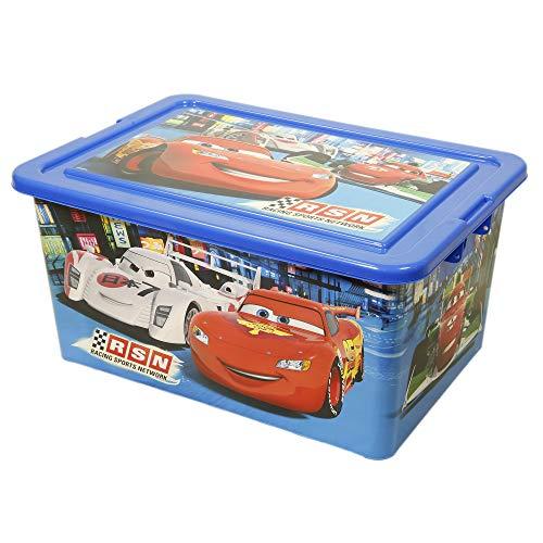 Disney - 800123 - Cars - Boîte De Rangement - 35 L