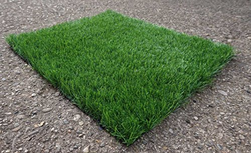 Prato finto erba sintetica verde tappeto erboso drenante esterno giardino 4 cm - Verde