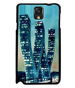 printtech W Shaped Building Back Case Cover for Samsung Galaxy Note 3 N9000::Samsung Galaxy Note 3 N9002::Samsung Galaxy Note 3 N9005 LTE