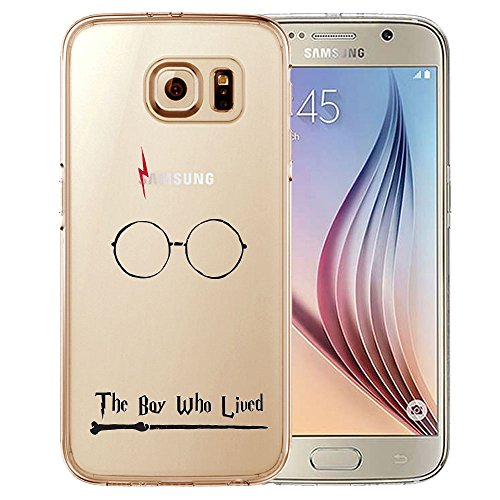 "Coque TPU Harry Potter transparente pour iPhone et smartphones Samsung, citation ""Mischief Managed"", protection écran incluse, The Boy, Samsung Galaxy S5"