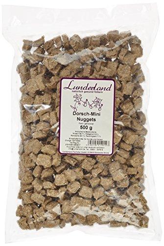 Lunderland - Dorsch-Mini-Nuggets, 500 g, 2er Pack (2 x 500 g)