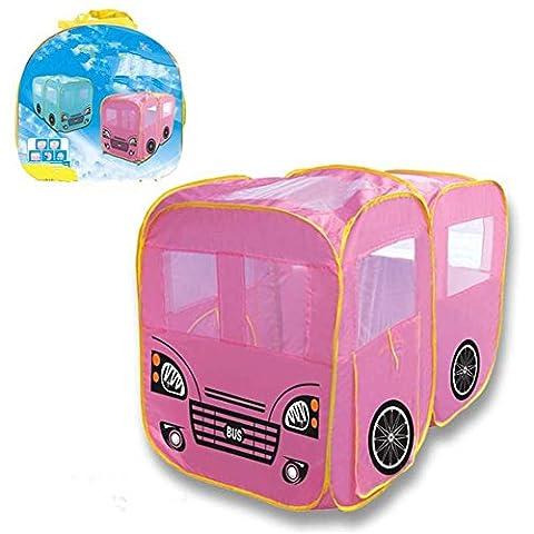 WGE Children'S Zelt Car Games Haus Kreativ Baby Indoor Outdoor Klettern Interaktive Spielzeug