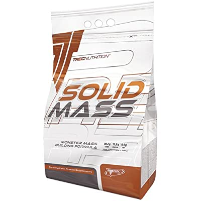 SOLID MASS 3000g - VANILLA - GAINER MUSCLE SIZE WEIGHT GAIN PROTEIN - Increase body mass quickly - Carbohydrate and protein - based gainer formula - Trec Nutrition from MagicSupplements